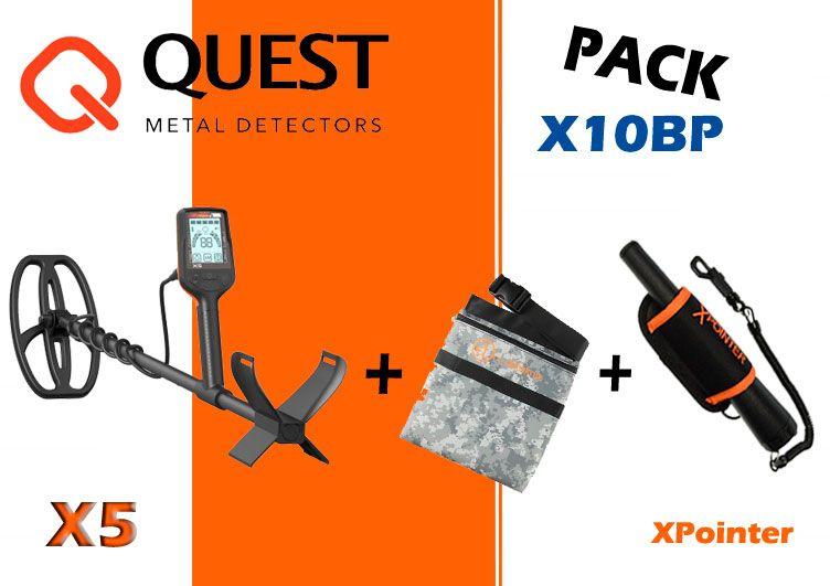 Pack Quest X5 y accesorios