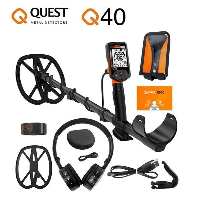 Detector de tesoros Quest Q40