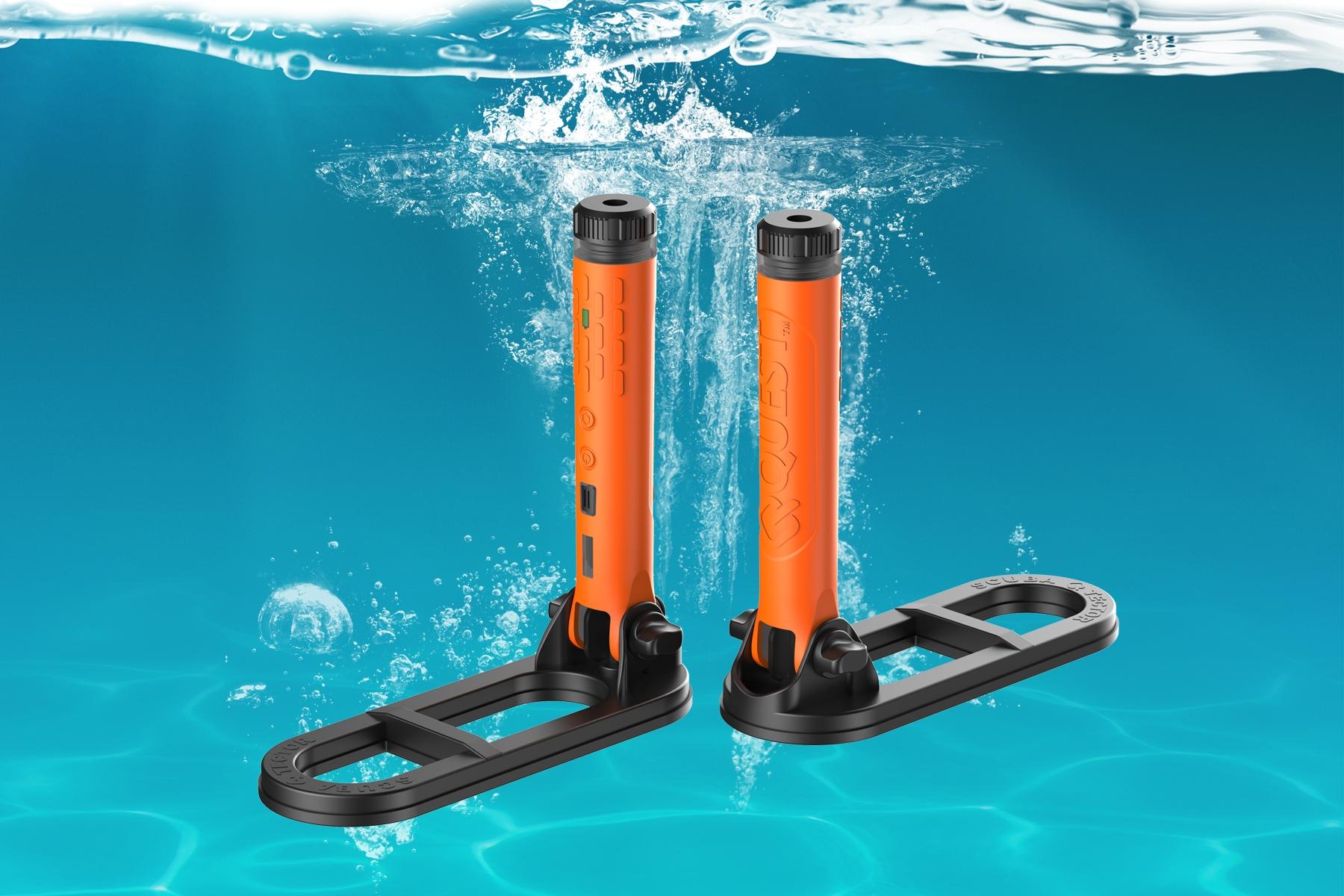 Detector submarino de mano