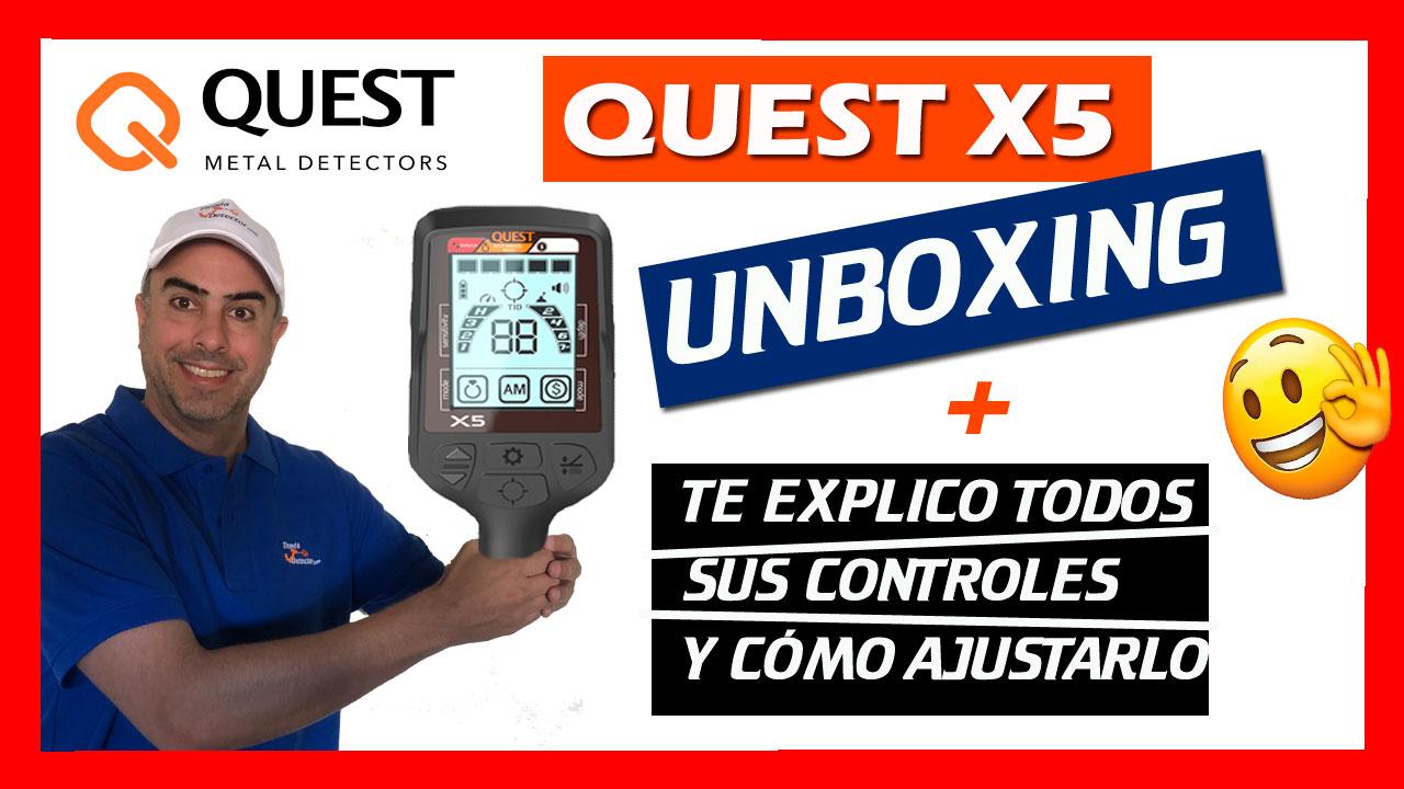 Todos los ajustes del Quest X5