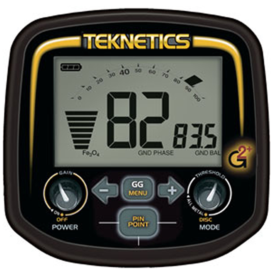 Pantalla detector de oro Teknetics G2+
