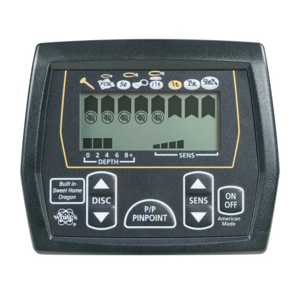 Pantalla detector de monedas White´s Coinmaster