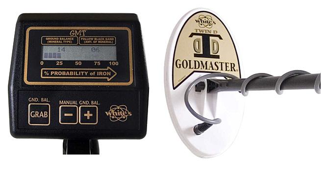 Detector de oro WHITE´S GMT GOLDMASTER