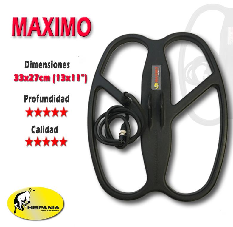 PLATO HISPANIA MAXIMO para detectores de metales WHITE'S