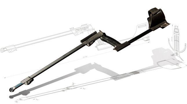 Barra universal para detector de metales