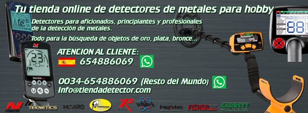 Detector de Metales, Metal Detector, Detector de Oro, Detector
